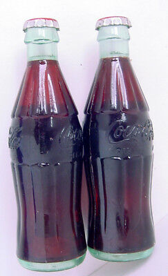 "1950s 3.5"" PLASTIC COCA-COLA DISPLAY BOTTLES FOR RED COOLER PICNIC PLAY SET"