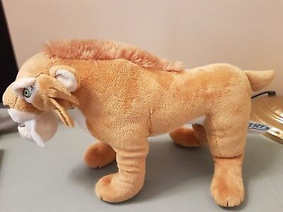 ICE AGE 3 DIEGO THE SABRETOOTH TIGER Cuddly Soft Plush Toy