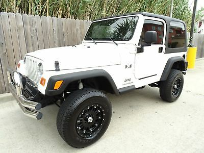 Jeep Wrangler X 2003 Jeep Wrangler X 2dr 4x4 4.0L I6 Engine Super Clean Low Miles