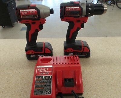 Milwaukee 2799-22CX M18 Compact Brushless Driver/Drill & Impact Combo