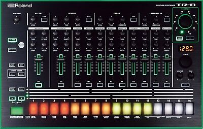 Roland TR 8 Drum Machine - Fully Expanded 909 808 707 727 606