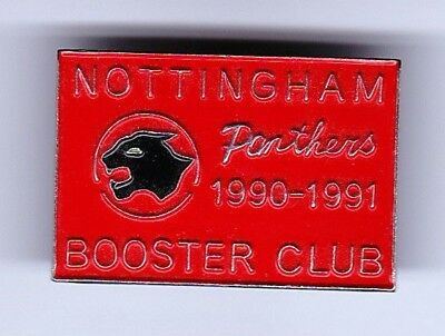 1990/91 Nottingham Panthers Booster Club Member's Badge