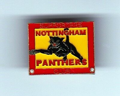 Nottingham Panthers Supporters Club Member's Badge