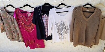 5 x size 20-24 bundle of tops