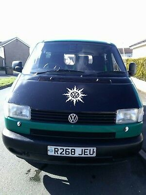 vw t4 camper,drive away awning,rnr bed,split charge system,led light,swivel seat