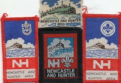 Nsw  Scout Badge       Newcastle And Hunter X  4