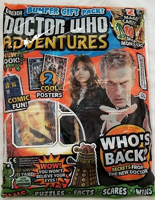 Doctor Who Adventures Magazine 352 Lenticular Cards Mega Monsters Figures Poster