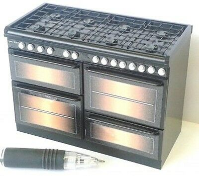 DOLLS HOUSE MINIATURE Black Range Cooker 1/12TH SCALE NOT LIFE SIZE