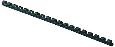 Fellowes 52507 Plastic Comb Bindings, 5/16 Diameter, 40 Sheet Capacity, Black