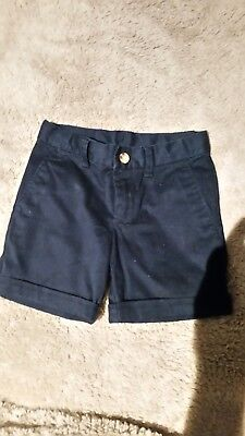 ralph lauren polo boys navy shorts size 3