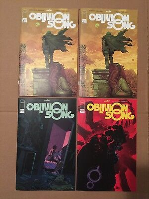 OBLIVION SONG by ROBERT KIRKMAN Issues 1-3 PLUS DeFelici Pink Chase Variant! NM