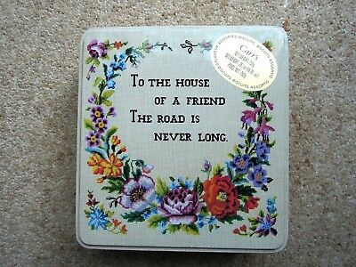 Vintage  CARR'S  BISCUIT TIN   *EXC. COND.  ~To the House of a Friend ......