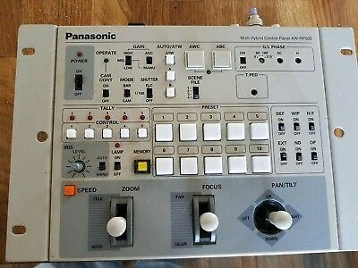 Panasonic Multi Hybrid Control Panel AW-RP505 w/A.C. Adapter