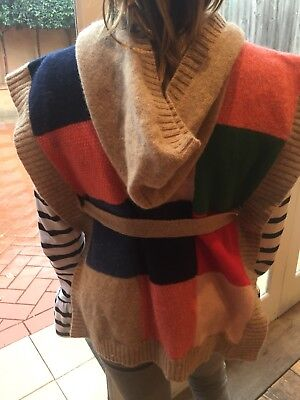 Country Road Girls Poncho Knit Size S