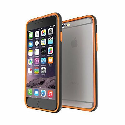 Gear4 D30 The Band+ Bumper Slim Case For iPhone 6S Plus & 6 Plus Black/Orange