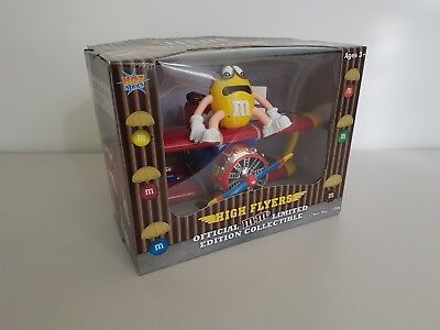 M&M Limited Edition Collectable Aeroplane Dispenser (BNIB)