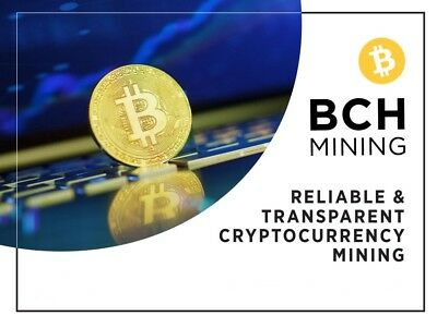 22TH/s!!! 24 Hour Bitcoin Cash (BCH) Mining Contract.