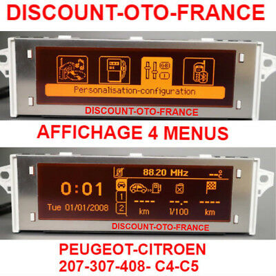 peugeot 207 407 citroen c4 ecran navigation gps ref 9656690480 eur 250 00 picclick fr. Black Bedroom Furniture Sets. Home Design Ideas