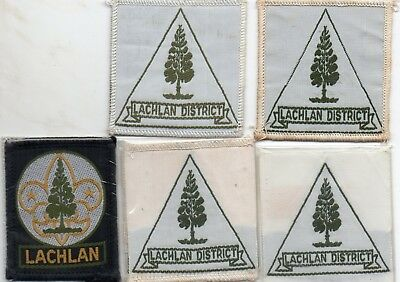 Nsw  Scout Badge       Lachlan  X  5