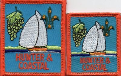 Nsw  Scout Badge      Hunter And Coastal X 2