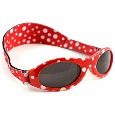 Baby Banz Adventure Baby Red Dot Sunglasses Toddler Sunnies Glasses 0-2yrs UV400