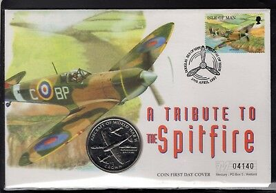 1997 Tribute to the Spitfire Coin Cover 4140