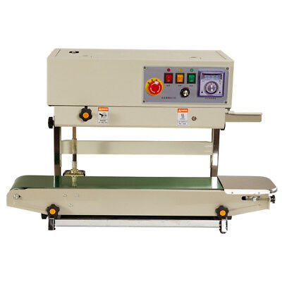 FR-770Plastic Bag Soild Ink Continuous Band Sealer Automatic Sealing Machine Pro