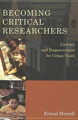 Becoming Critical Researchers: Literacy and Empowerment for Urban Youth (Counter