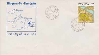 Canada #897 17¢ Niagara On The Lake On Scs Cachet First Day Cover