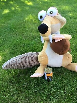 Official Ice Age 4 Scrat Giant 56cms Soft Plush Toy Tagged Huge Cuddly