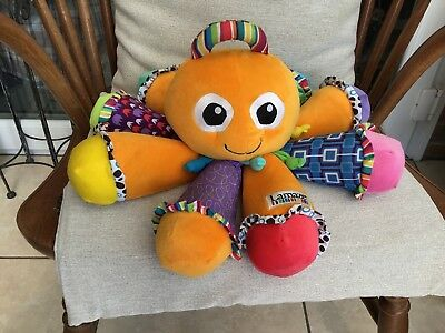 Lamaze Large Musical Soft  Octopus, each leg plays a different note