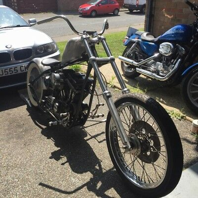 Harley chopper project