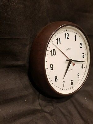Vintage Factory  large Smiths Sectric Clock in working order. Original model