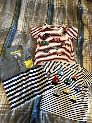 3 Mini Boden Tshirt Lot 2-3 Years