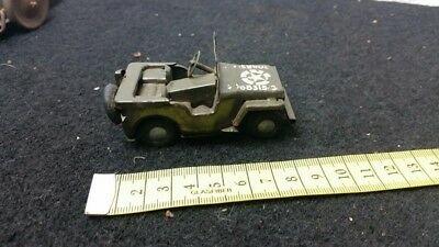 Blech Jeep  TRIANG MINIC TINPLATE US ARMY JEEP