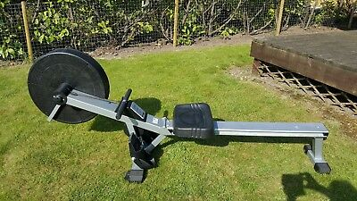 Home Exercise V-FIT AR1 Rowing Machine - digital display