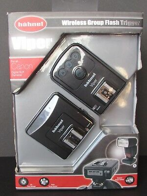 Hahnel Viper Wireless Group Flash Trigger for all Canon Digital SLR Cameras