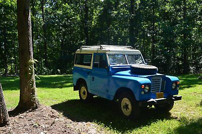 1968 Land Rover Defender  land rover series 2a