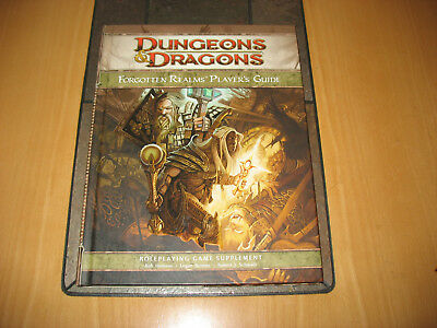 FORGOTTEN REALMS – PLAYERS GUIDE, 4. Edition