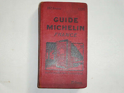 Guide Michelin rouge 1930
