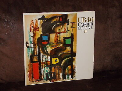 Vinyl-LP: UB 40 - Labour Of Love II [2,two] (1989) [Incl. Kingston Town]