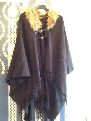 cape poncho, Onesize, Anna Field , Feinstrick