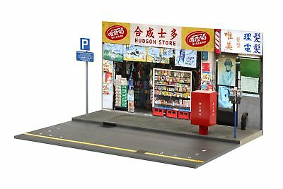 TINY CITY HK #S7 Parking Store Diorama Set Scale 1/18 (No Figure & Car  included)