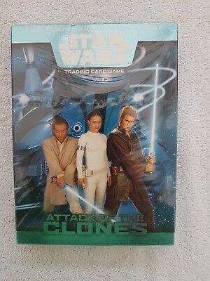 STAR WARS Trading Card Game - ATTACK OF THE CLONES Wizards 2002 unopened