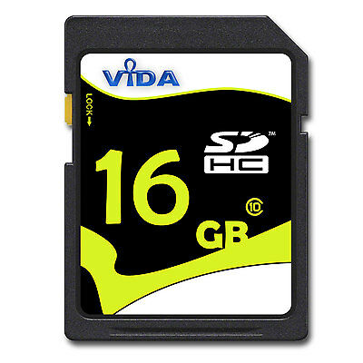 New 16GB SD SDHC Memory Card Speed Class 10 UHS-I For YI M1 Camera Read 20MB/s