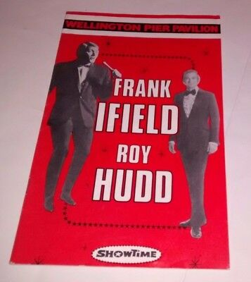 Frank Ifield / Roy Hudd Showtime 1972 programme, Great Yarmouth Wellington Pier