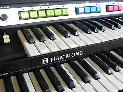 Hammond-Orgel, transportabel, Original!