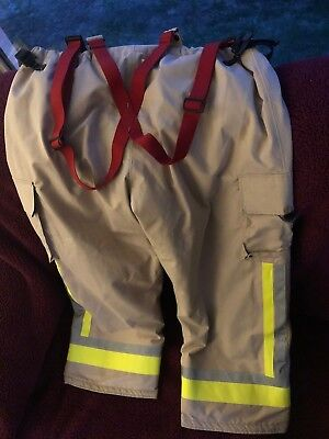 Fire Dept Firefighting Bunker Pants by Bristol Uniforms Ltd