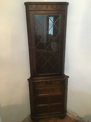 Oak Antique/reproduction corner unit