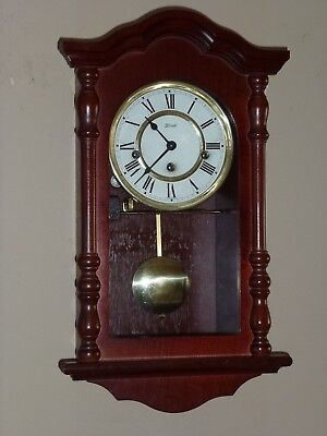 Vintage Franz Hermle Westminster Chimes Wall Clock